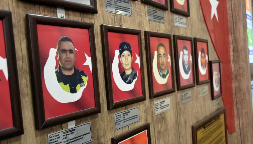 """19 Mayıs Polis okulunun """"Fethi Sekin"""" gururu"""