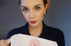 İtalya`dan Türkiye`ye Gelen Elif Canbazoğlu`dan Karantina Yurdu`na Övgü Dolu Sözler