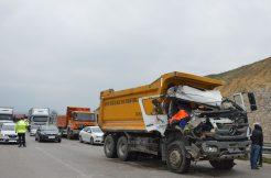 Samsun`un Havza İlçesinde Trafik Kazası 2 Yaralı