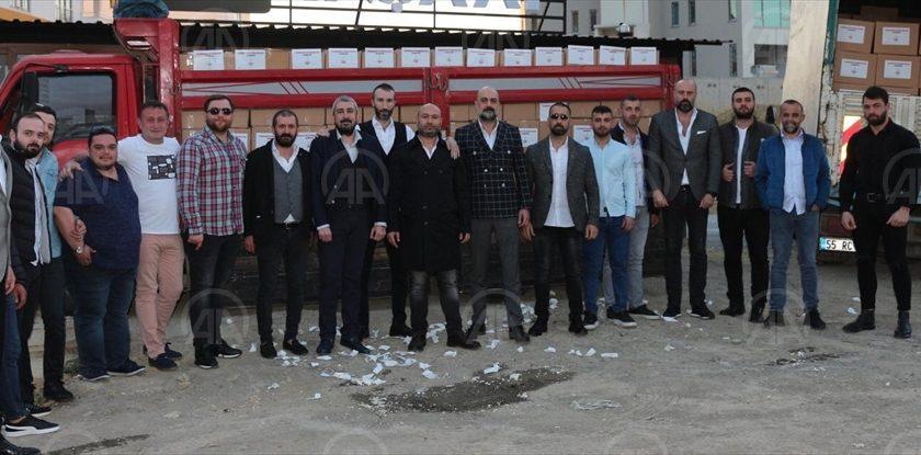 Samsun'da 6 Bin Aileye Kumanya Yardımı