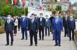 Atatürk'ün Havza'ya gelişinin 101. yıl dönümü kutlandı