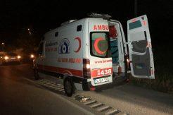 """Karabük'te """"dur"""" ihtarına uymayan ambulans sürücüsü yakalandı"""