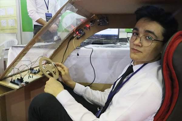 Liseli Öğrenciler Araçlar İçin Güvenlik Sistemi Tasarladı