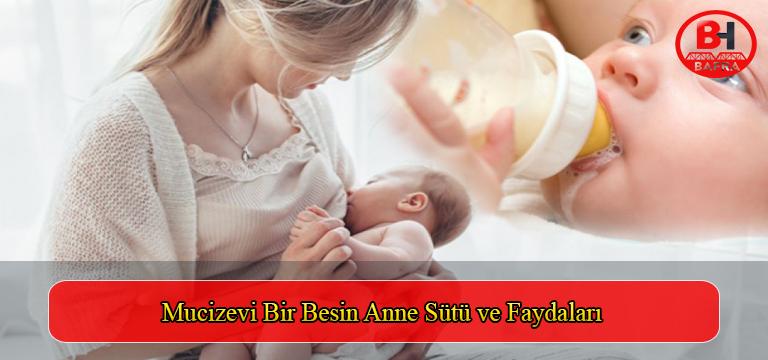 Mucizevi Bir Besin Anne Sütü ve Faydaları