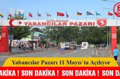 Samsun'da Yabancılar Pazarı 11 Mayıs'ta yeniden açılacak