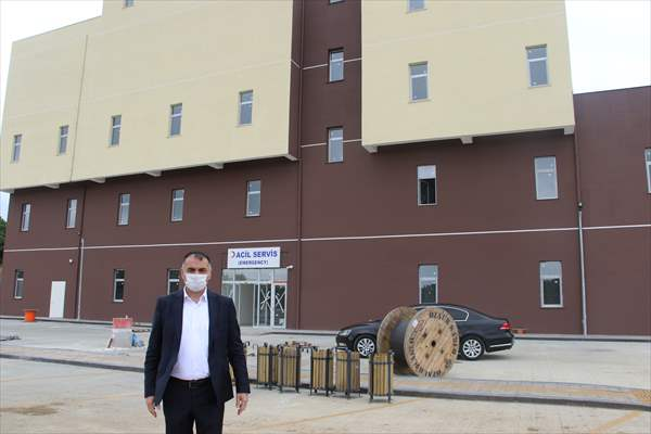 Salıpazarı Devlet Hastanesi Haziran Sonunda Açılması Planlanıyor