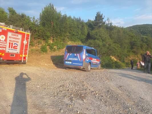 Samsun'da uçuruma devrilen otomobilin sürücüsü öldü