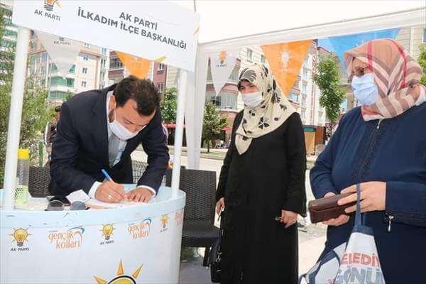 AK Parti'den İlkadım' da Üye Çalışması
