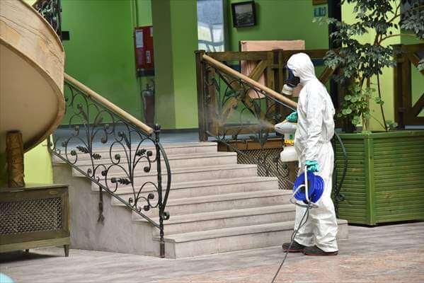 Samsun'da Huzurevi Sakinlerine Düzenli Olarak Koronavirüs Testi Yapıldı