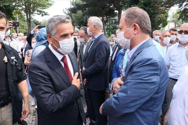 Vali Osman Kaymak Yeni Görevi İçin Samsun'dan Ayrıldı