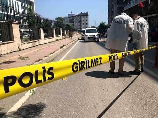 Samsun Adliyesine  Pompalı Tüfekle Saldırı Yapıldı