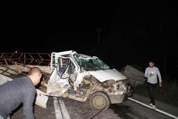 Samsun Çarşamba'da Trafik Kazası: 6 Yaralı