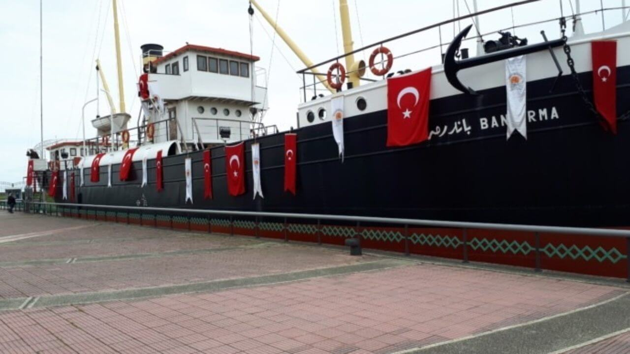 Bandırma Gemi Müzesi' ni 15 Yılda 8 Milyon Kişi Gezdi