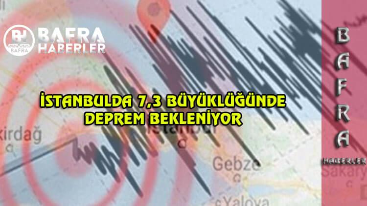 İstanbul'da 7,3'lük bir deprem görüleceği iddia edildi.