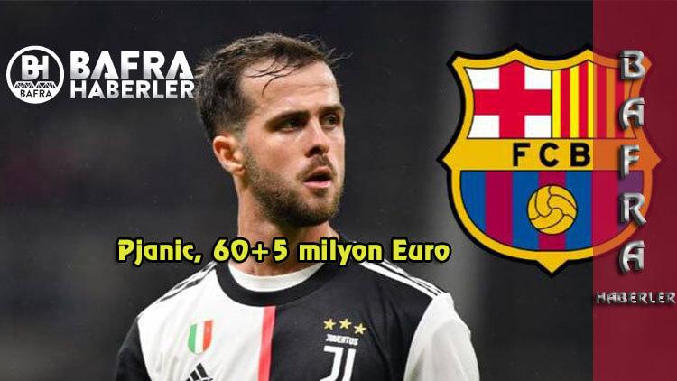 Pjanic, 60+5 milyon Euro'ya Barcelona'ya transfer oldu.