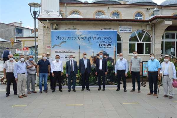 Ayasofya-i Kebir Camii'nin İbadete Açılması Dolayısıyla Vatandaşlara Şerbet İkramı