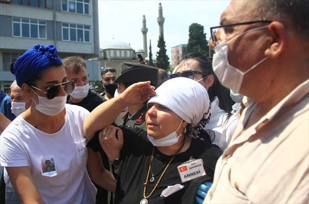Şehit Er Caner Mayendağı Samsun'da Uğurlandı