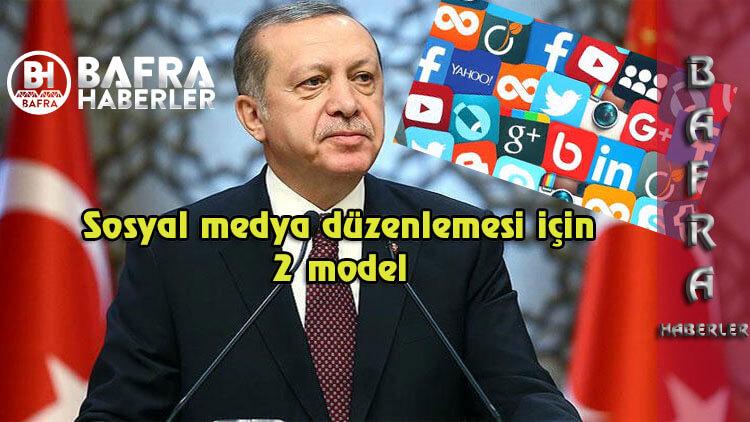 Sosyal Medya düzenlemesi için önerilen 2 model