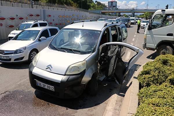 Samsun'da Kaza: 5 Yaralı