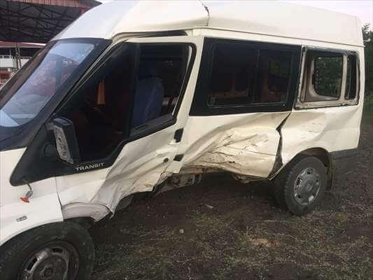 Çarşamba'da Kaza:2 Yaralı