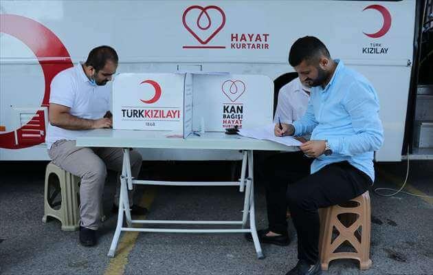 Kızılay Azalan Kan Bağışını Arttırmak İçin Gönüllülerle Çalışıyor