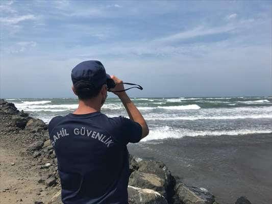 Denizde Kaybolan Genci Arama Çalışmaları Sürüyor