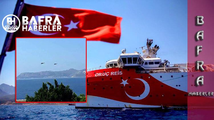 Akdeniz'de Sular Kaynıyor. Navtex Sonrası Oruç Reis Gemisi Bölgede