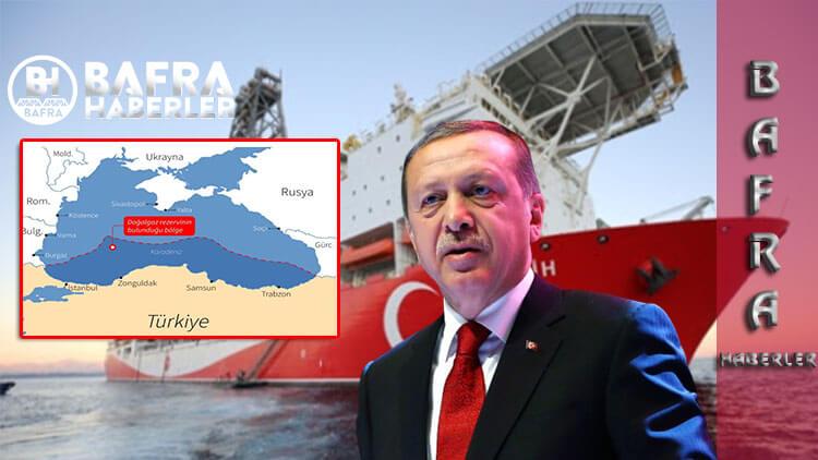 Karadeniz'de 320 Milyar Metreküp Doğalgaz Bulundu.