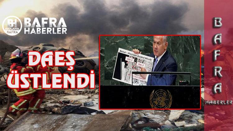 Beyrut Şehrindeki Patlamayı DAEŞ Üstlendi. İsrail'den Açıklama