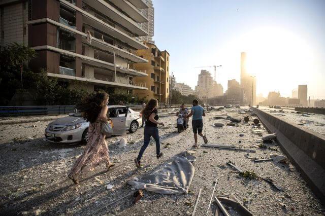 beyrut şehrindeki patlamayı daeş üstlendi. i̇srail'den açıklama 2
