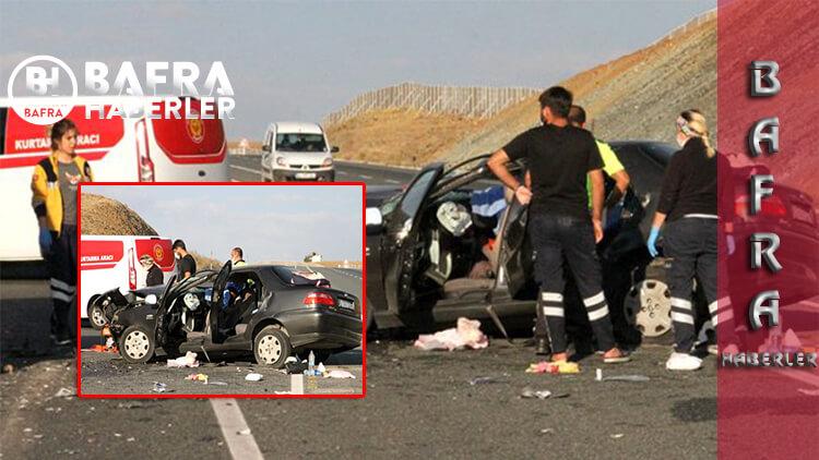 Erzincan'daki Kazada Büyük Dram Meydana Geldi: 2 Ölü