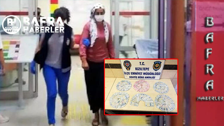 Kayın pederinden 83 bin TL Çalan Yenge Gözaltına Alındı.