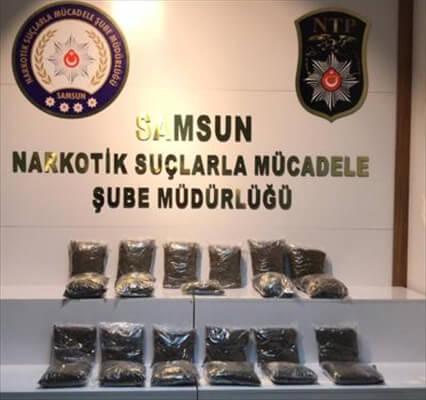 Samsun Ve Ordu'da Uyuşturucu Operasyonu