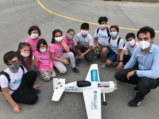 Samsun'da Ortaokul Öğrencileri İHA Geliştirdi