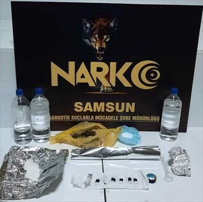 Samsun'da Narkotik Uygulamasında 7 Zanlı Yakalandı
