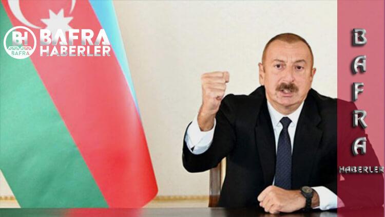 Azerbaycan Cumhurbaşkanı İlham Aliyev, 21 Köy ve 1 Kasabanın Daha Kurtarıldığını Açıkladı