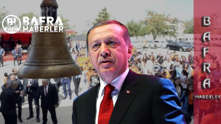"""Cumhurbaşkanı Recep Tayip Erdoğan'a """"Okullar Açılsın"""" Önerisi Geldi"""