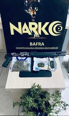 Bafra'da Narkotik Uygulaması:18 Gözaltı