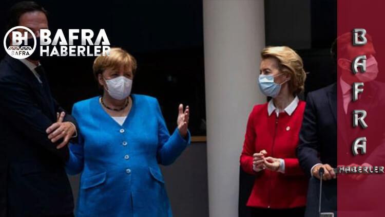 AB Konseyindeki Türkiye Yaptırımlarına Angela Merkel'den İlginç Açıklama