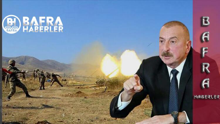 Azerbaycan'dan Ermenistan'a Darbe! Mühimmatları Tükendi