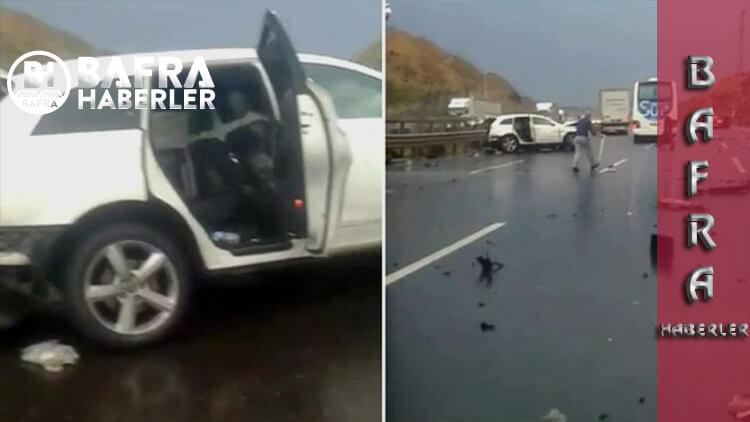 İstanbul'da Feci Kaza! Boğazı Bariyere Çarpan Adamın Başı Gövdesinden Ayrıldı