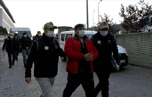 Samsun'da Irak Uyruklu 8 DEAŞ Şüphelisi Yakalandı