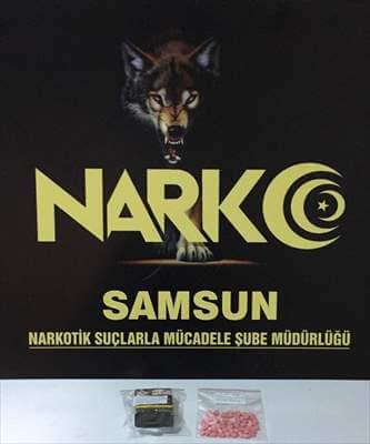 Samsun'da Uyuşturucu Operasyonu:2 Gözaltı