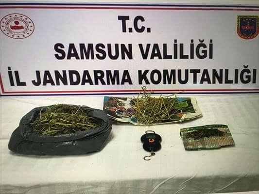Samsun'da Uyuşturucu Operasyonu:15 Gözaltı