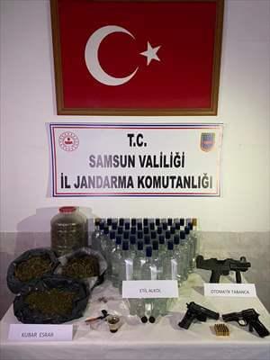 Bafra'da Uyuşturucu Operasyonu:3 Şüpheli Yakalandı
