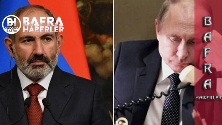 """Paşinyan'dan Putin'e Şikayet: """" Askerler İtaat Etmiyor"""""""