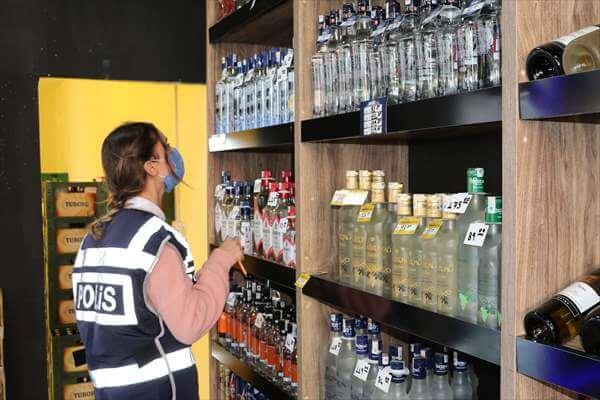 Havza'da Kaçak Alkol Ve Bandrol Denetimi