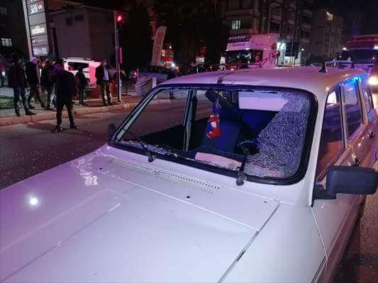 Çarşamba'da Otomobil Bisiklete Çarptı:1 Yaralı