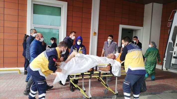 Samsun'da Elektrik Akımına Kapılan 2 İşçi Yaralandı
