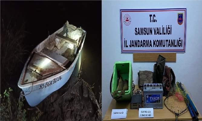 Samsun'da Kaçak Balık Avlayanlara Para Cezası Verildi